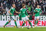 01.12.2018, Weserstadion, Bremen, GER, 1.FBL, Werder Bremen vs FC Bayern Muenchen<br /> <br /> DFL REGULATIONS PROHIBIT ANY USE OF PHOTOGRAPHS AS IMAGE SEQUENCES AND/OR QUASI-VIDEO.<br /> <br /> im Bild / picture shows<br /> Jubel zum 1:1 Ausgleich, Yuya Osako (Werder Bremen #08) bejubelt seinen Treffer zum 1:1,  <br /> <br /> Foto &copy; nordphoto / Ewert