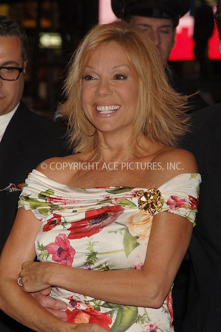 "WWW.ACEPIXS.COM . . . . .  ....NEW YORK, APRIL 25, 2006....Kathie Lee Gifford at the Broadway opening of ""Lestat"".....Please byline: AJ Sokalner - ACEPIXS.COM.... *** ***..Ace Pictures, Inc:  ..(212) 243-8787 or (646) 769 0430..e-mail: picturedesk@acepixs.com..web: http://www.acepixs.com"