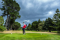 Fiona Xu tees off at the 6th. Day two of the Jennian Homes Charles Tour / Brian Green Property Group New Zealand Super 6s at Manawatu Golf Club in Palmerston North, New Zealand on Friday, 6 March 2020. Photo: Dave Lintott / lintottphoto.co.nz