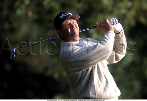 RETIEF GOOSEN (RSA), Cisco World Match Play Championships, Wentworth 991015 Photo:Matthew Clarke/Action Plus...1999.Golf.golfer golfers