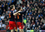 Hal Robson_Kanu (right) of Reading celebrates his goal with Alex Pearce - Football - FA Cup 5th round - Derby County vs Reading - IPro Stadium Derby - Season 2014/15 - 14th February 2015 - Photo Malcolm Couzens/Sportimage
