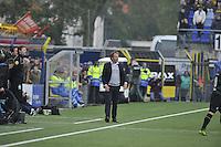 VOETBAL: LEEUWARDEN: 08-11-2015, SC Cambuur - FC Groningen, uitslag 2-2, Cambuur trainer/coach Henk de Jong, ©foto Martin de Jong