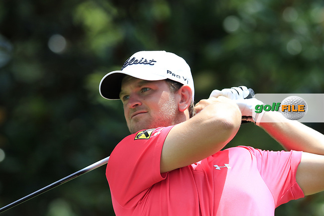 Bernd Wiesberger (AUT) tees off the 14th tee during Thursday's Round 1 of the 2017 PGA Championship held at Quail Hollow Golf Club, Charlotte, North Carolina, USA. 10th August 2017.<br /> Picture: Eoin Clarke | Golffile<br /> <br /> <br /> All photos usage must carry mandatory copyright credit (&copy; Golffile | Eoin Clarke)