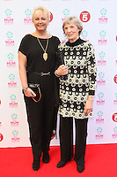 Sue Cleaver and Mother arriving at the Tesco Mum Of The Year Awards 2014, at The Savoy, London. 23/02/2014 Picture by: Alexandra Glen / Featureflash