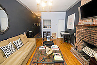 Living Room at 433 West 24th Street