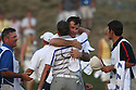 NICK FALDO, Captain of the European Ryder Cup Team & LEE WESTWOOD of the Europen Ryder Cup Team Teamduring the friday afternoon fourballs of the 37th Ryder Cup Matches, September 16 - 21, 2008 played at Valhalla Golf Club, Louisville, Kentucky, USA ( Picture by Phil Inglis ).... ......