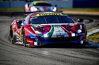 #51 AF CORSE (ITA) FERRARI 488 GTE EVO GTE PRO ALESSANDRO PIER GUIDI (ITA) JAMES CALADO (GBR) DANIEL SERRA (BRA)