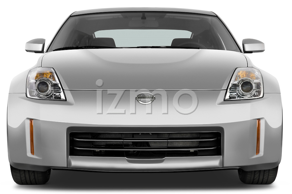 Straight front view of a 2008 Nissan 350z