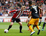 Mark Duffy of Sheffield Utd during the English League One match at Bramall Lane Stadium, Sheffield. Picture date: April 17th 2017. Pic credit should read: Simon Bellis/Sportimage