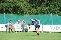 KAATSEN: HUIZUM: 30-08-2015, Johan van der Meulen, Hylke Bruinsma en Hendrik Kootstra wonnen de finale met 5-4 en 6-2 van Hendrik Tolsma, Alle Jan Anema en Thomas van Zuiden, ©foto Martin de Jong