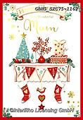 John, CHRISTMAS SYMBOLS, WEIHNACHTEN SYMBOLE, NAVIDAD SÍMBOLOS, paintings+++++,GBHSSXC75-1167,#xx#