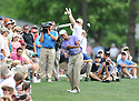 TIGER WOODS, during the third round of the Quail Hollow Championship, on May 2, 2009 in Charlotte, NC.