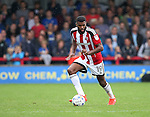 Sheffield United's Ethan Ebanks-Landell in action during the League One match at the Kingsmeadow Stadium, London. Picture date: September 10th, 2016. Pic David Klein/Sportimage