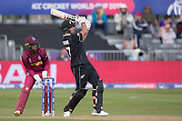 Colin de Grandhomme (New Zealand) powers the ball to mid wicket during West Indies vs New Zealand, ICC World Cup Warm-Up Match Cricket at the Bristol County Ground on 28th May 2019