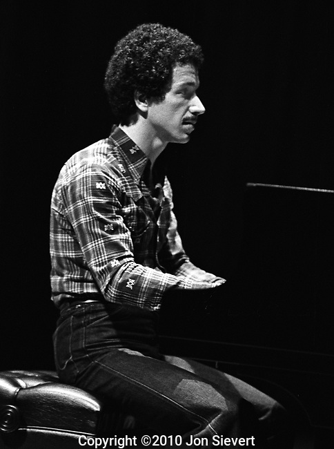 Keith Jarrett, Opera House, San Francisco, 3/25/79. American jazz icon and classical pianist and composer.