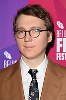 """Paul Dano<br /> arriving for the London Film Festival screening of """"Wildlife"""" at the Cineworld Leicester Square, London<br /> <br /> ©Ash Knotek  D3442  13/10/2018"""