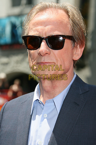 "BILL NIGHY.""G-Force"" World Premiere held at the El Capitan Theatre, Hollywood, California, USA..July 19th, 2009.headshot portrait blue shirt jacket  sunglasses shades .CAP/ADM/MJ.©Michael Jade/AdMedia/Capital Pictures."
