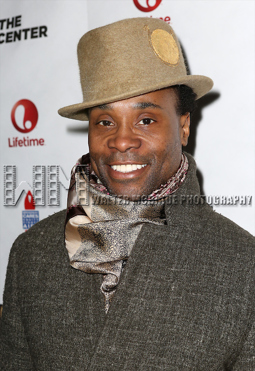 "Billy Porter attends the ""Broadway Backwards"" After Party Reception  at John's Restaurant on March 24, 2014 in New York City."