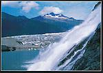 Nugget Creek Falls and Mendenhall Glacier