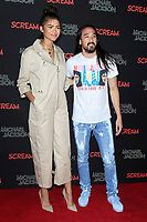 LOS ANGELES - OCT 24: Zendaya, Steve Aoki at The Estate of Michael Jackson and Sony Music present Michael Jackson Scream Halloween Takeover at TCL Chinese Theatre IMAX on October 24, 2017 in Los Angeles, California
