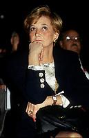 Andree Simard la conjointe du Premier ministre Robert Bourassa, vers 1991<br /> <br /> PHOTO : &copy; Agence Quebec Presse
