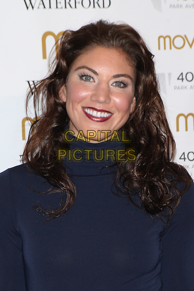 NEW YORK, NY - NOVEMBER 5: Hope Solo attends Moves' 2015 Power Women Awards Gala presented by New York Moves Magazine at  India House Club on November 5, 2015 in New York City.   <br /> CAP/MPI99<br /> &copy;MPI99/Capital Pictures