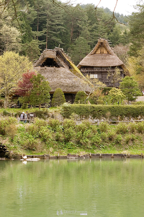 Takayama display village of traditional highland houses of Japan