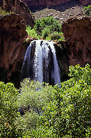 Water fall in the Havasupai Canyon, Arizona, USA
