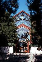 Lloyd Wright: Wayfarer's Chapel, 1946-1971.  Photo '82.