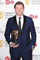 Sean Bean in the winners room for the BAFTA TV Awards 2018 at the Royal Festival Hall, London, UK. <br /> 13 May  2018<br /> Picture: Steve Vas/Featureflash/SilverHub 0208 004 5359 sales@silverhubmedia.com
