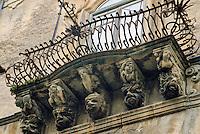- baroque architecture in Ragusa....- architettura barocca a Ragusa