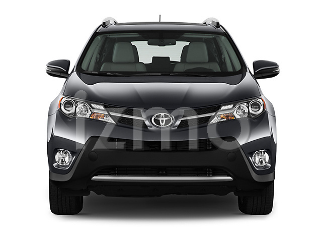 Straight front view of a