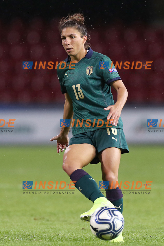 Elisa Bartoli of Italy<br /> Benevento 08-11-2019 Stadio Ciro Vigorito <br /> Football UEFA Women's EURO 2021 <br /> Qualifying round - Group B <br /> Italy - Georgia<br /> Photo Cesare Purini / Insidefoto