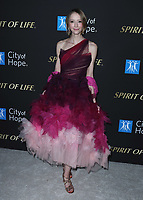 SANTA MONICA, CA - OCT 7:  Taryn Southern at the City Of Hope Spirit Of Life Gala 2019 at the Barker Hangar on October 7. 2019 in Santa Monica, California. (Photo by Xavier Collin/PictureGroup)