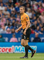Ryan Bennett of Wolves during the Premier League match between Leicester City and Wolverhampton Wanderers at the King Power Stadium, Leicester, England on 10 August 2019. Photo by Andy Rowland.