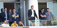Carson, California - Sunday April 9, 2014: The LA Galaxy defeated Chivas USA 3-0 in a Major League Soccer (MLS) match at StubHub Center stadium.