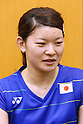 Ayaka Takahashi (JPN), JULY 19, 2016 - Badminton : Training for Rio Olympic Games in Tokyo, Japan. (Photo by Sho Tamura/AFLO SPORT)