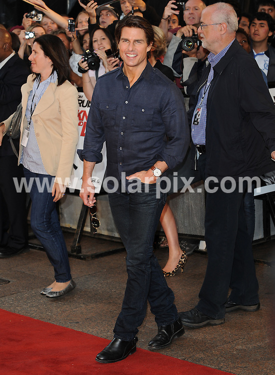 **ALL ROUND PICTURES FROM SOLARPIX.COM**.**WORLDWIDE SYNDICATION RIGHTS**.UK Premiere of Knight and Day.  Held at the Odeon, Leicester Square, London.This pic:     Tom Cruise.JOB REF:    11740   SSD     DATE:     22.07.10.**MUST CREDIT SOLARPIX.COM OR DOUBLE FEE WILL BE CHARGED**.**MUST NOTIFY SOLARPIX OF ONLINE USAGE**.**CALL US ON: +34 952 811 768 or LOW RATE FROM UK 0844 617 7637**