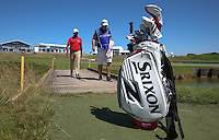Anirban Lahiri (IND) crossing the bridge on the 15th during the preview days of the 2015 Alstom Open de France, played at Le Golf National, Saint-Quentin-En-Yvelines, Paris, France. /30/06/2015/. Picture: Golffile | David Lloyd<br /> <br /> All photos usage must carry mandatory copyright credit (&copy; Golffile | David Lloyd)