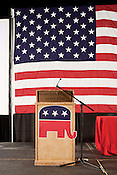 February 16, 2012. Raleigh, NC..  The North Carolina Republicans held their 2012 Precinct Meeting at Dorton Arena with former Charlotte mayor Pat McCrory as the key note speaker.