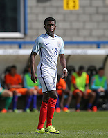 Isaac Buckley-Ricketts (Manchester City) of England U19 during the International match between England U19 and Netherlands U19 at New Bucks Head, Telford, England on 1 September 2016. Photo by Andy Rowland.