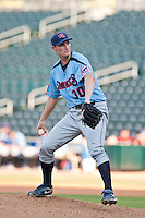 Christopher Carpenter of the  Tennessee Smokies during a game vs. the Jacksonville Suns July 10 2010 at Baseball Grounds of Jacksonville in Jacksonville, Florida. Photo By Scott Jontes/Four Seam Images