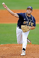 17 April 2010:  FIU's Scott Rembisz (30) pitches in the third inning .as the FIU Golden Panthers defeated the University of New Orleans Privateers, 6-4, at University Park Stadium in Miami, Florida.