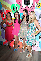 """WEST HOLLYWOOD - JUN 15: Veena Crownholm, Tammin Sursok, Erin Ziering, Rachel Pitzel at the """"At Home with the Zierings"""" Blog Launch Party at Au Fudge on June 15, 2016 in West Hollywood, California"""