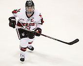 Maggie Brennolt (NU - 22) - The Northeastern University Huskies defeated Boston College Eagles 4-3 to repeat as Beanpot champions on Tuesday, February 12, 2013, at Matthews Arena in Boston, Massachusetts.