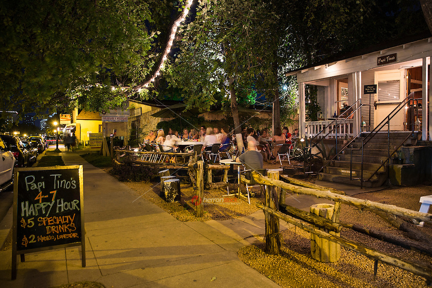Austin's East Side features a line of hip, new open air patio bars, cafes and authentic restaurants up and down east 6th Street that cater to even the most decreening palate.