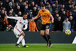 Lys Mousset of Sheffield Utd during the Premier League match at Molineux, Wolverhampton. Picture date: 1st December 2019. Picture credit should read: Simon Bellis/Sportimage