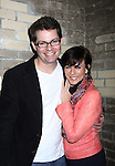 As The World Turns Trent Dawson & Colleen Zenk attend My Big Gay Italian Wedding on March 18, 2011 (also 3-17- & 3-20) at St. Luke's Theatre, New York City, New York. (Photo by Sue Coflin/Max Photos)