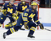 Luke Glendening (Michigan - 23) - The Boston University Terriers defeated the University of Michigan Wolverines 3-2 on Saturday, October 24, 2009, at Agganis Arena in Boston, Massachusetts.