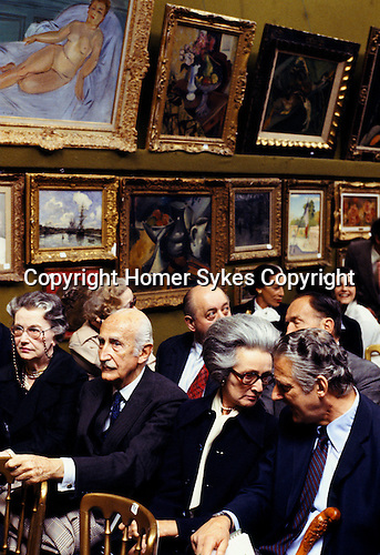 Sothebys 1970s, at the Robert Von Hirsch collection sale at Sotheby's Bond Street London 1978. Peter Wilson Chairman auctioneer